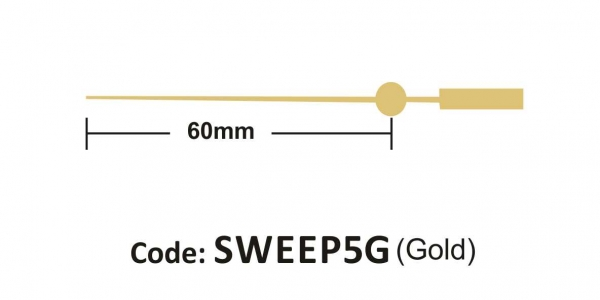 Sweep 60mm Gold