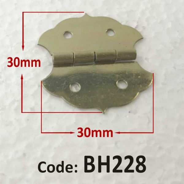Brass Hinge 30 x 30mm