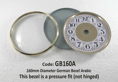 Bezel - German 160mm
