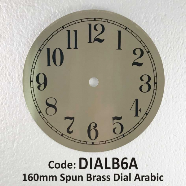 Dial Brass Arabic 160mm