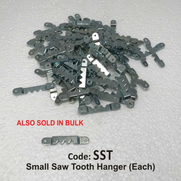 Small Saw Tooth Hanger