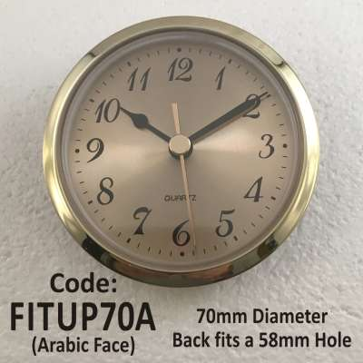 Fit-Up 60mm Arabic Gold