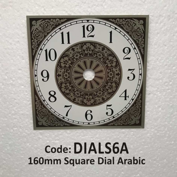 Dial Square Arabic 160mm