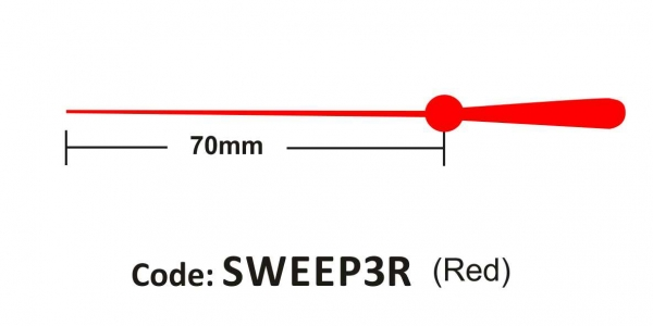Sweep 70mm Red