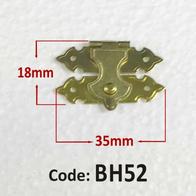 Brass Catch 18 x 35 mm