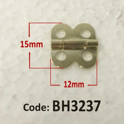 Brass Hinge 15 x 12mm