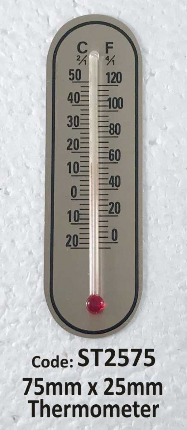 Thermometer 75mm