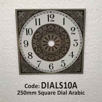 Dial Square Arabic 250mm