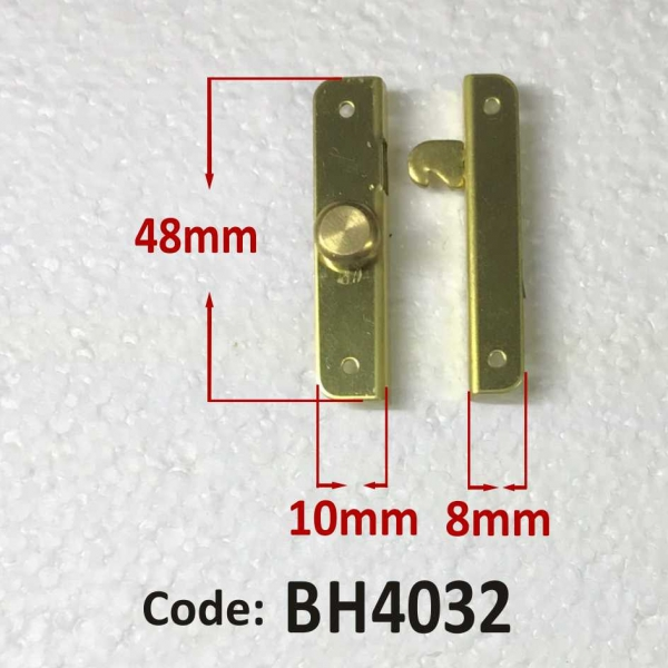 Brass Catch 48 x 10 mm