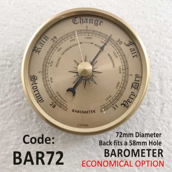 Barometer 72mm Series