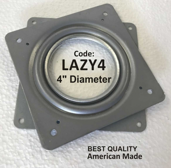 Lazy Susan Bearings 4""