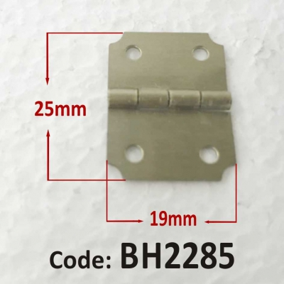 Brass Hinge 19 x 25mm