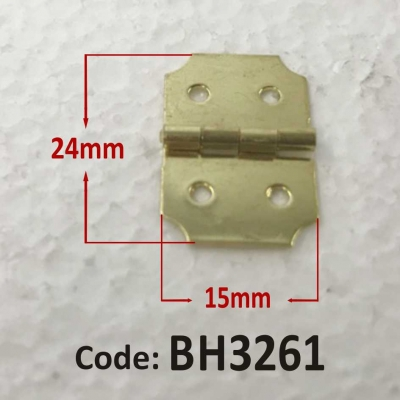 Brass Hinge 24 x 15mm