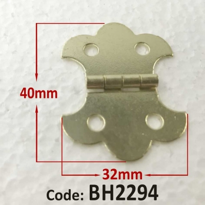 Brass Hinge 40 x 32mm