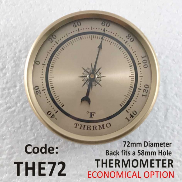 Thermometer 72mm (Economy)