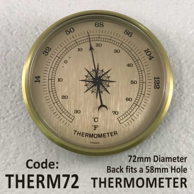 Thermometer 72mm Series