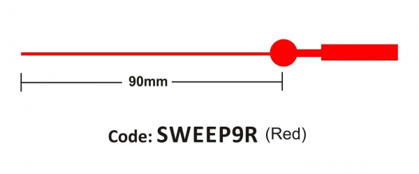Sweep 90mm Red
