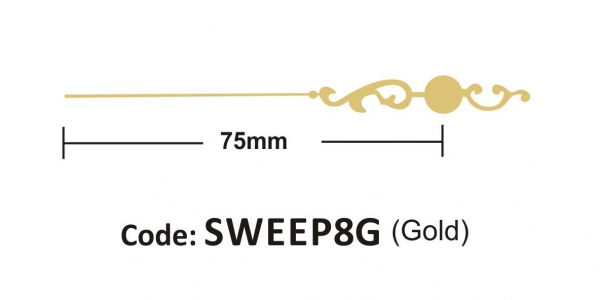 Sweep 75mm Gold