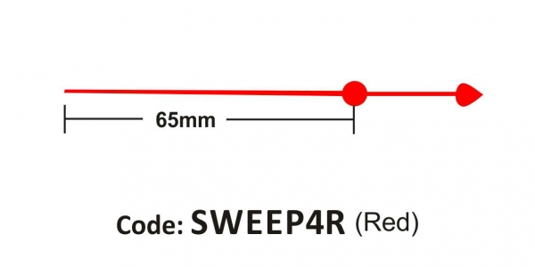 Sweep 65mm Red