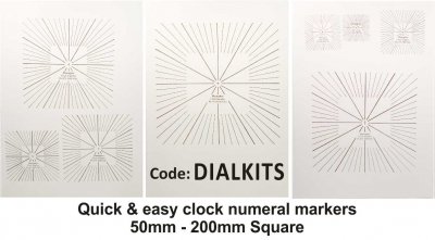 Numeral Markers Square