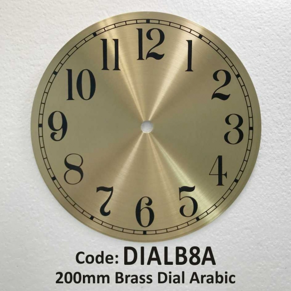 Dial Brass Arabic 200mm
