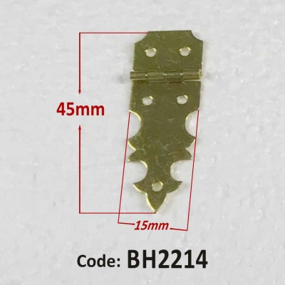 Brass Hinge 15 x 45mm