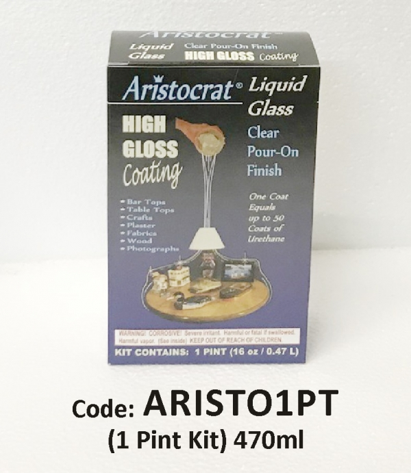 Aristocrat Liquid Glass Resin 1 Pint