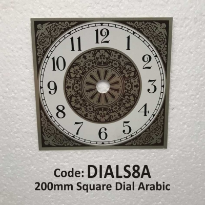 Dial Square Arabic 200mm