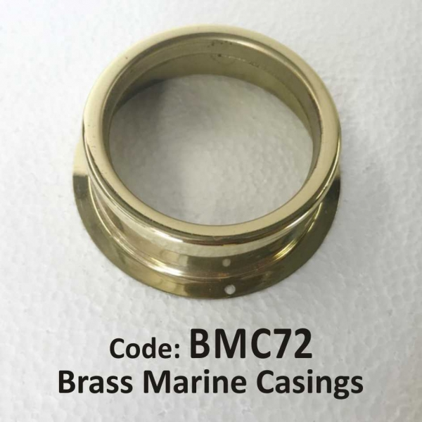 Brass Marine Casing 72mm
