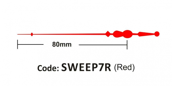 Sweep 80mm Red